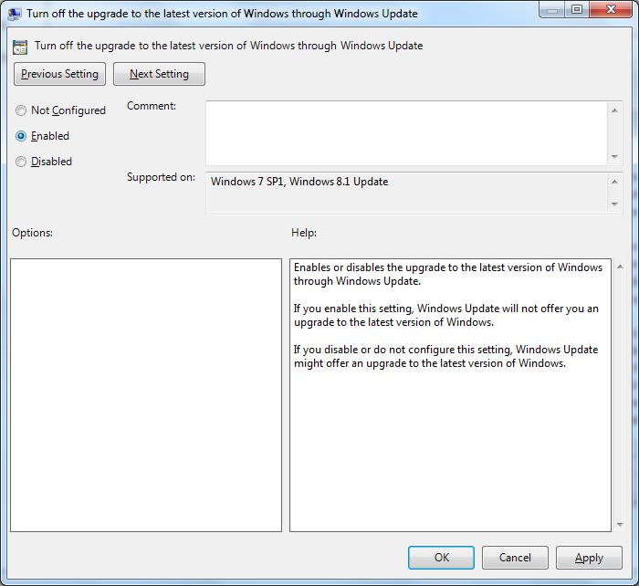 Detener la actualización a Windows 10 pic2