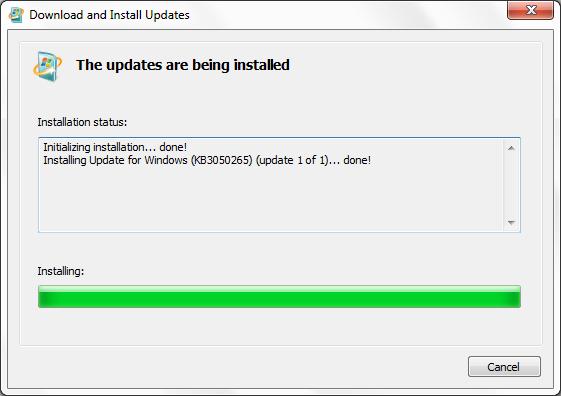 Detener la actualización a Windows 10