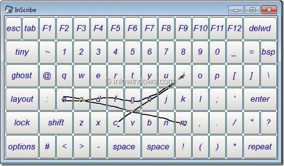 Swype Keyboard For Windows 8 Picture1