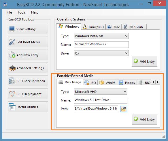 Probar Windows 8.1 sin instalar el paso 10