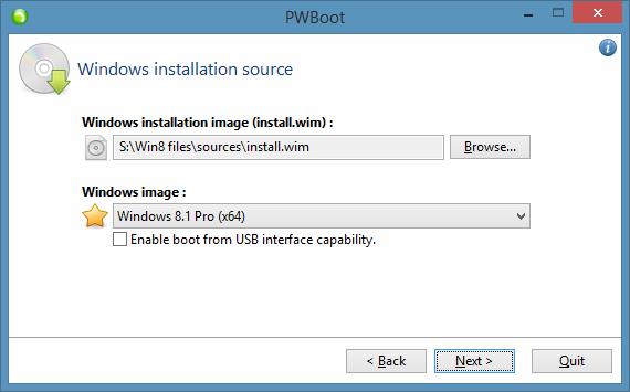 Probar Windows 8.1 sin instalar el paso 2