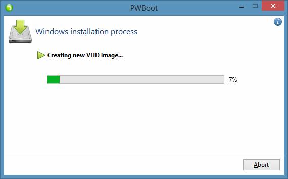 Probar Windows 8.1 sin instalar el paso 7