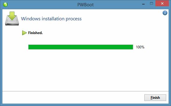 Prueba de Windows 8.1 Sin instalar el paso 9