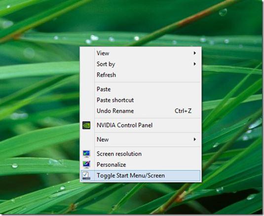 Cambiar menú Inicio o imagen de pantalla de inicio01