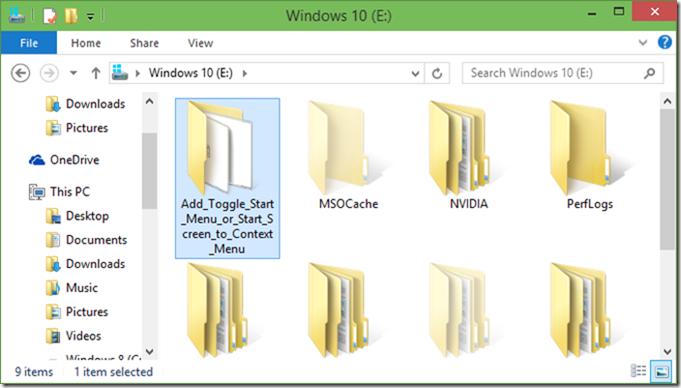 Cambiar menú Inicio o imagen de pantalla de inicio02