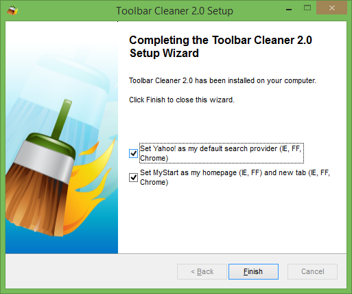 Toolbar Cleaner for Windows picture2