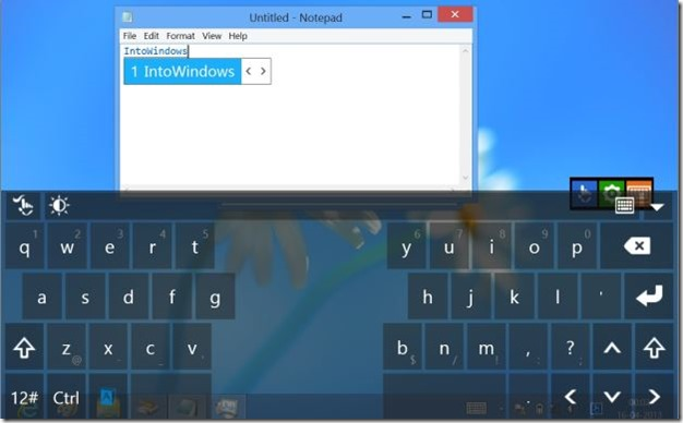 Touchpal keyboard for Windows 8 Picture4