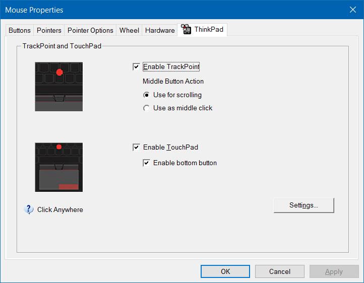 Activar o desactivar los gestos del panel táctil en Windows 10 pic6.1
