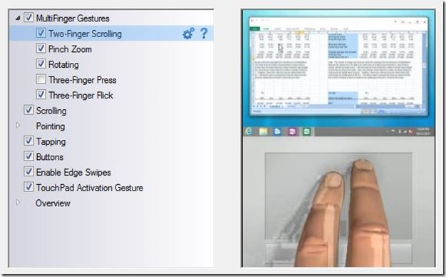 Two Finger Scrolling In Windows 8 Step7