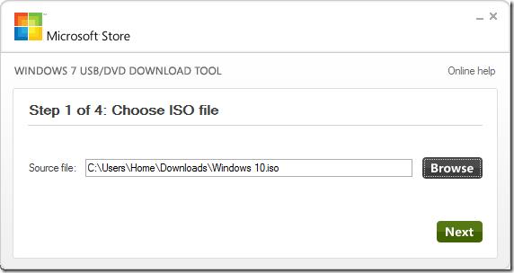 UEFI bootable USB Windows 10 step5