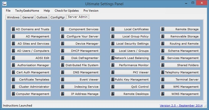 Ultimate Settings Panel for Windows picture2