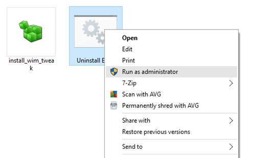 Desinstalar y quitar Edge de Windows 10 pic1