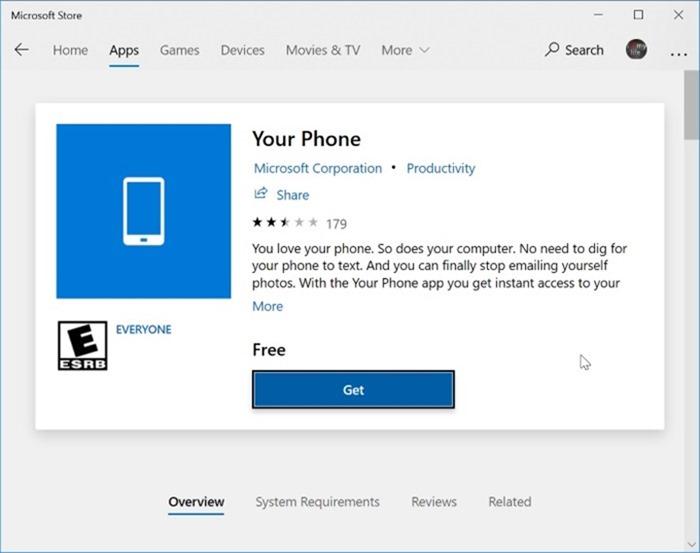 Desinstala o reinstala la aplicación del teléfono en Windows 10 pic3