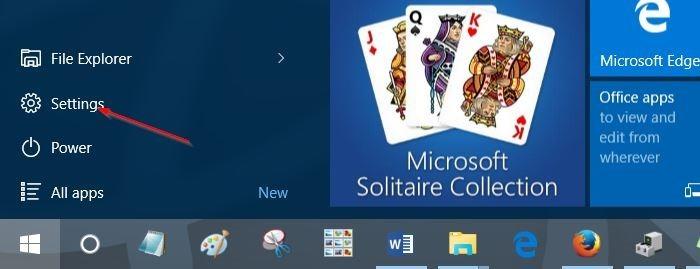 Desinstalar programas en Windows 10 step1