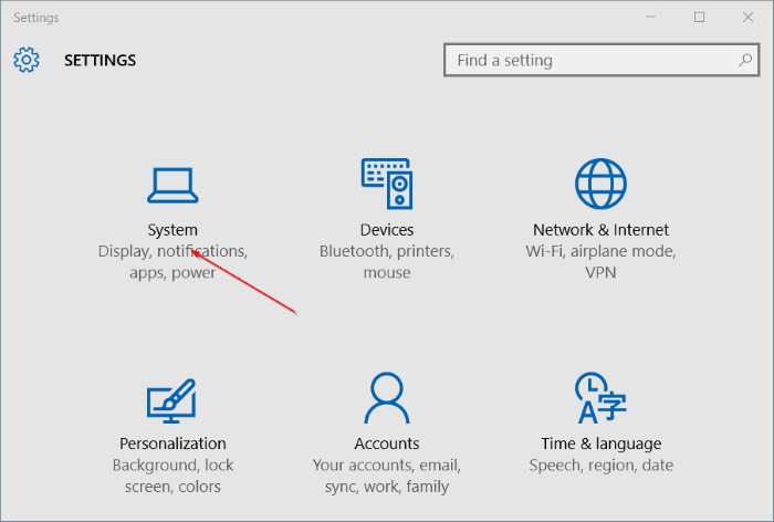 Desinstalar programas en Windows 10 step2