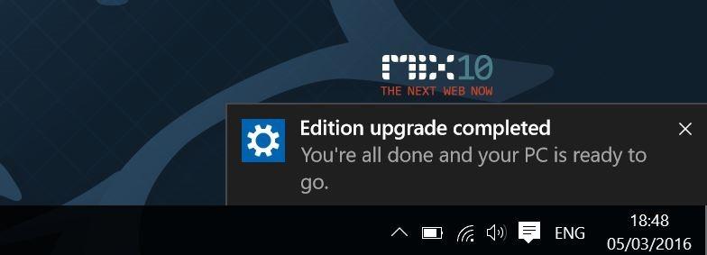Actualizar Windows 10 Home a Pro sin clave step9