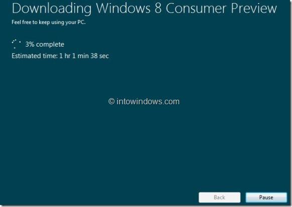 Upgrade Windows 7 To Windows 8 step3