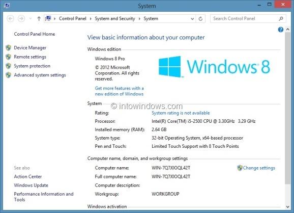 Upgrade Windows 8 To Windows 8 Pro Step7