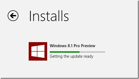 Upgrade Windows 8 to Windows 8.1 Preview Step12