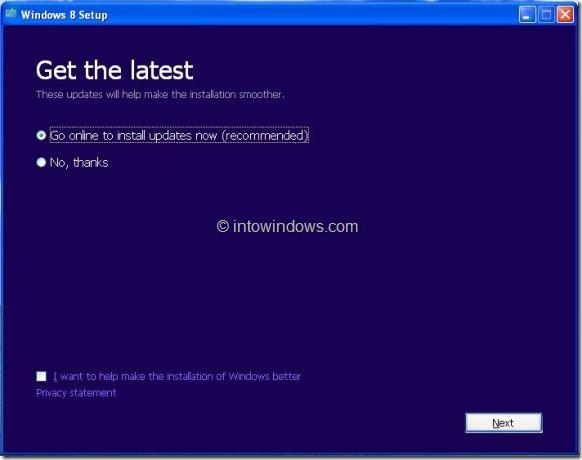 Upgrade XP To Windows 8 Step3