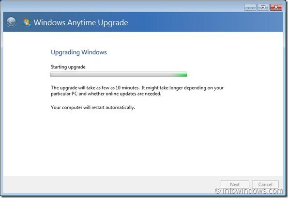 Actualizar Windows 7 Home Premium a Professional Edition step7