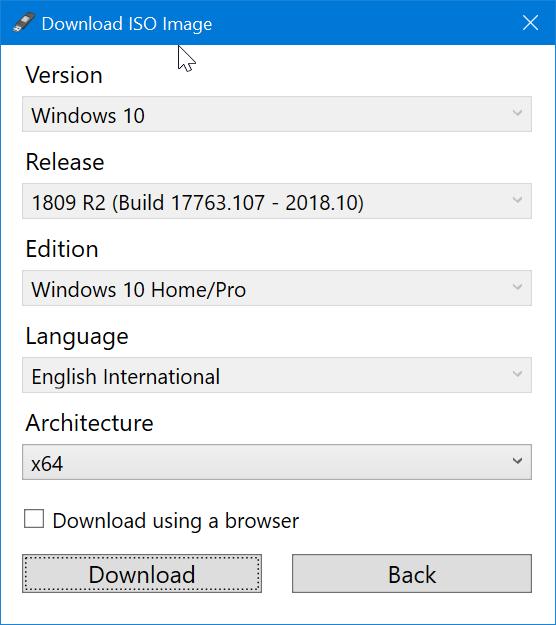 Use Rufus para descargar Windows 10 ISO pic8