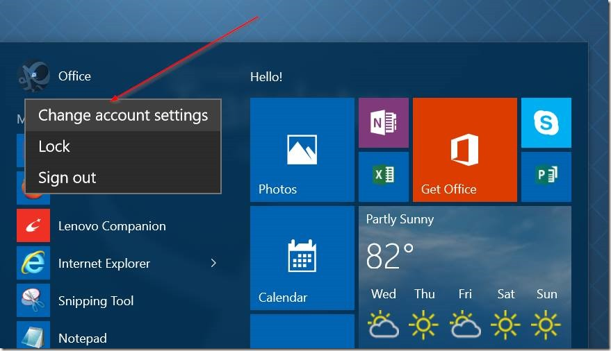 Usar vídeo como imagen de cuenta de usuario en Windows 10 pic1