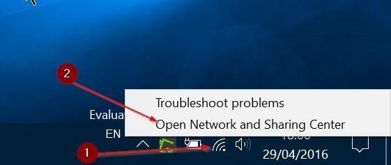 Ver contraseña WiFi guardada en Windows 10 Paso 1