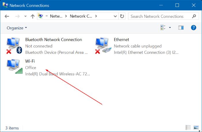 Ver contraseña WiFi guardada en Windows 10 Step3