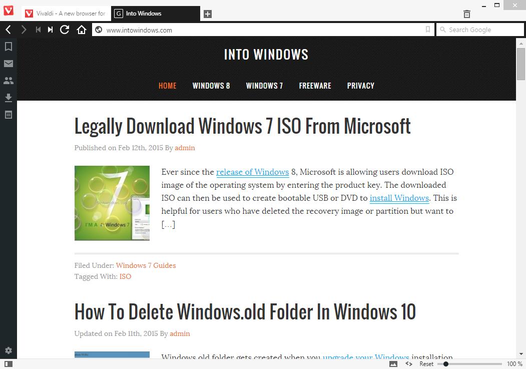 Vivaldi browser free download picture
