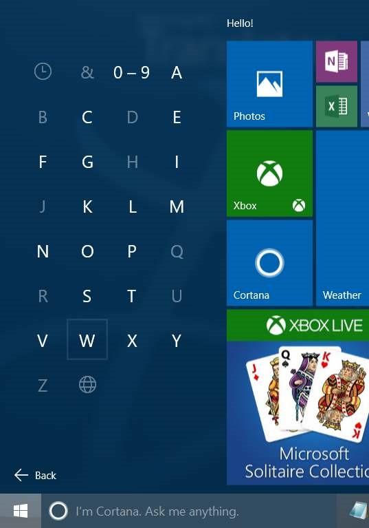 Windows 10 Consejos de búsqueda del menú Inicio (5)