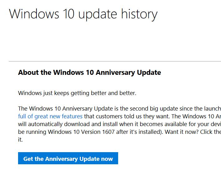 Asistente de actualización de Windows 10 pic1