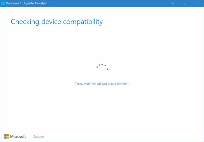 Asistente de actualización de Windows 10 pic3