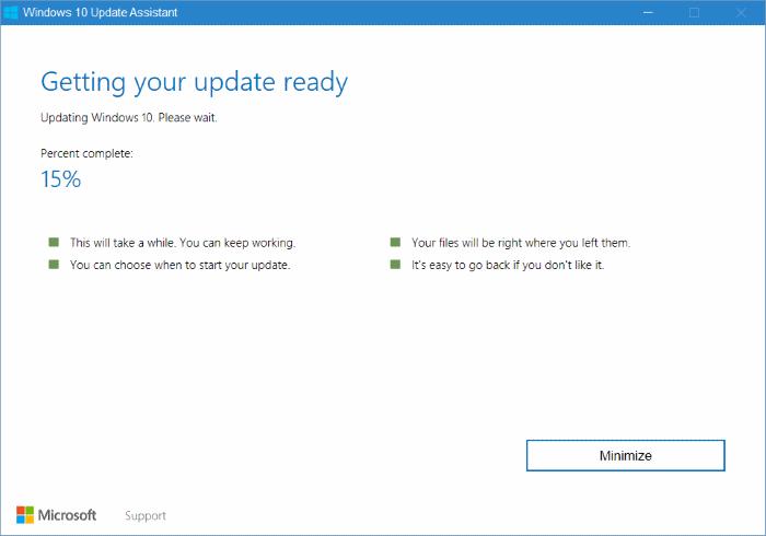 Asistente de actualización de Windows 10 pic6
