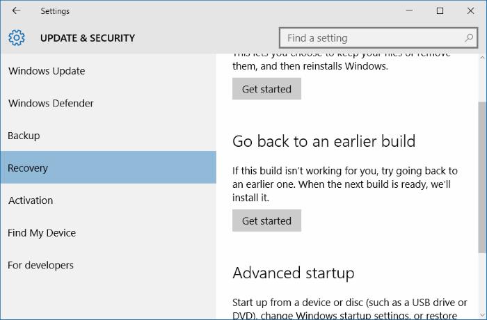 Windows 10 desactivado después de instalar las actualizaciones pic2