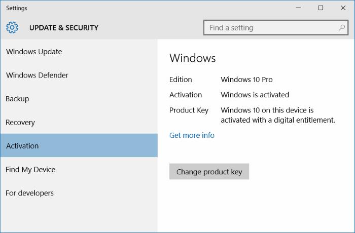 Windows 10 desactivado después de instalar actualizaciones