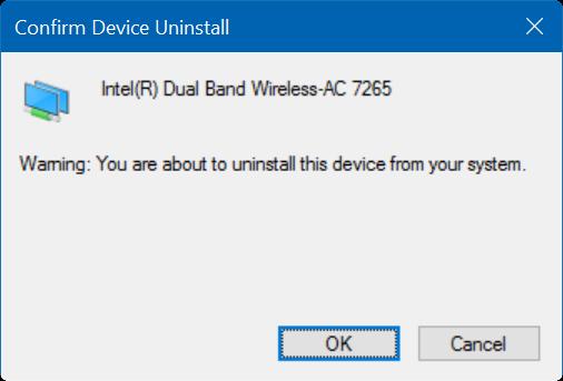 Windows 10 no recuerda la contraseña wifi paso 6