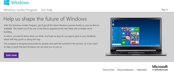Windows 10 preview free download