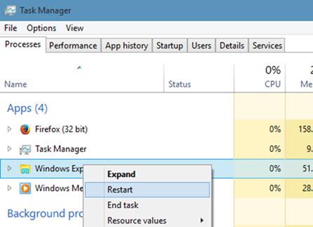 Iconos de carpetas estilo Windows 7 en Windows 10 step07