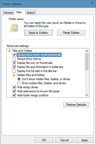 Iconos de carpeta de estilo Windows 7 en Windows 10 step09