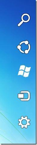 Windows 8 Charm Bar for Windows 7