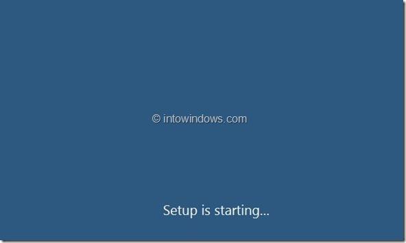 Windows 8 Installation Procedure Step4