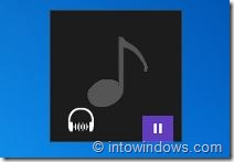 Windows 8 Music Player Skin Picture2