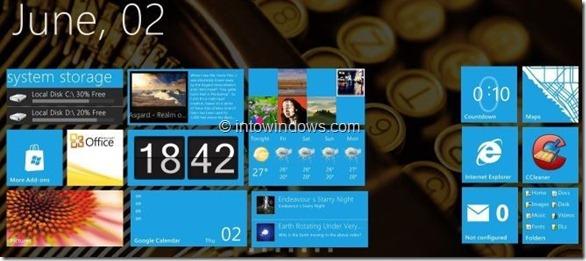 Windows 8 Tablet UI Start Screen Small Final