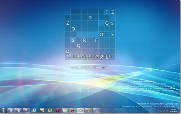 Marca de agua de Windows 8 en el escritorio de Windows 7