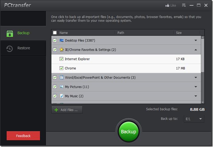 Windows Easy Transfer for Windows 8.1