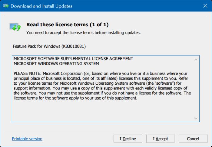 Reproductor de Windows Media para Windows 10 pic1