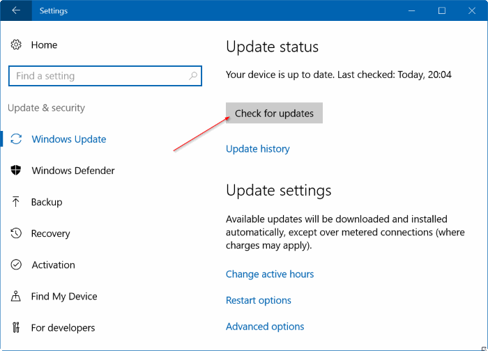 Windows Update atascado descargando actualizaciones de Windows 10 pic8