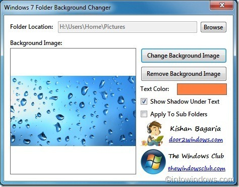 Windows7FolderBackgroundChanger
