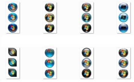 Windows 7 Stat orbs